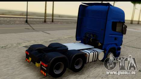 Scania G 4х6 für GTA San Andreas linke Ansicht