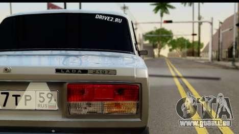 VAZ 21074 pour GTA San Andreas vue de droite