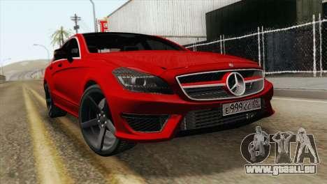 Mercedes-Menz CLS63 AMG für GTA San Andreas