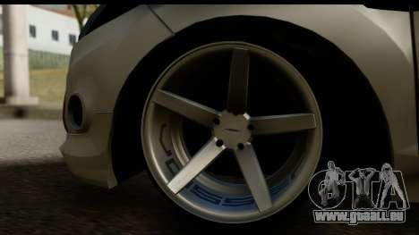 Ford Fiesta für GTA San Andreas Innenansicht