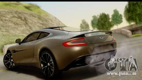 Aston Martin Vanquish 2013 Road version pour GTA San Andreas laissé vue