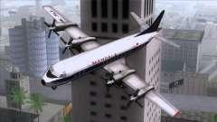 L-188 Electra Mandala Airlines