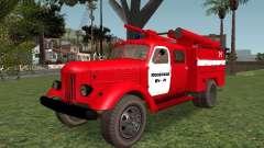 ZIL 164 Feuer