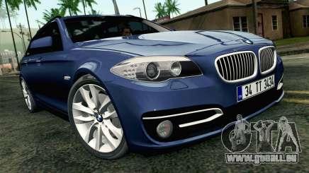 BMW 530d F11 Facelift HQLM für GTA San Andreas