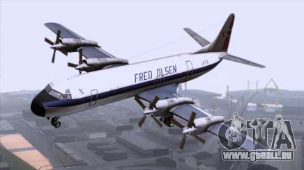 L-188 Electra Fled Olsen pour GTA San Andreas