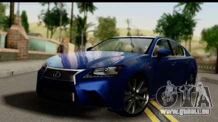 Lexus GS350 für GTA San Andreas