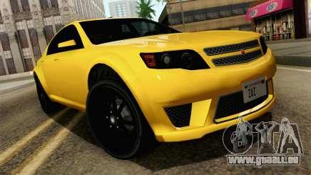 GTA 5 Cheval Fugitif FIV АПП pour GTA San Andreas