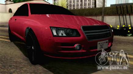 GTA 5 Obey Tailgater v2 SA Style pour GTA San Andreas