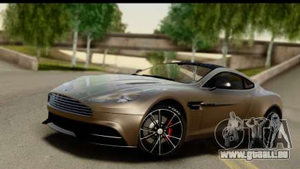 Aston Martin Vanquish 2013 Road version pour GTA San Andreas