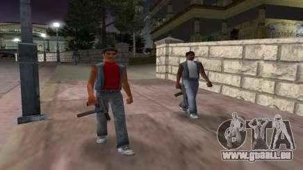 De nouvelles armes, les gangs pour GTA Vice City