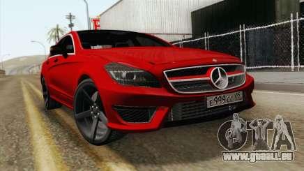 Mercedes-Menz CLS63 AMG pour GTA San Andreas
