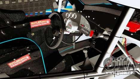 NASCAR Dodge Charger 2012 Plate Track pour GTA San Andreas vue de droite