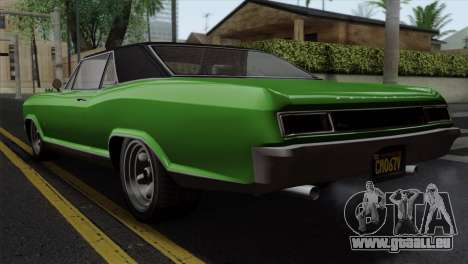 GTA 5 Albany Buccaneer IVF pour GTA San Andreas laissé vue