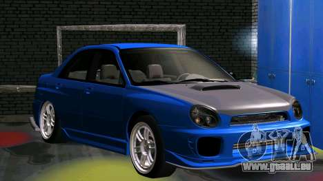 Subaru Impreza WRX für GTA San Andreas
