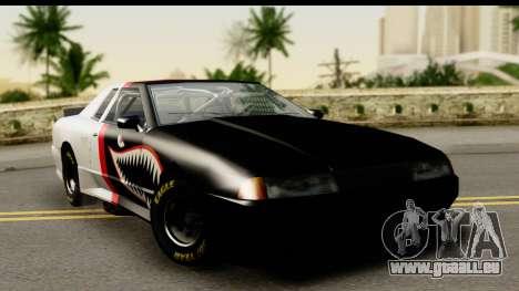 Elegy NASCAR PJ für GTA San Andreas Innenansicht