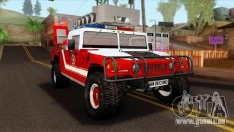 Hummer H1 Fire für GTA San Andreas