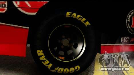 Elegy NASCAR PJ für GTA San Andreas zurück linke Ansicht