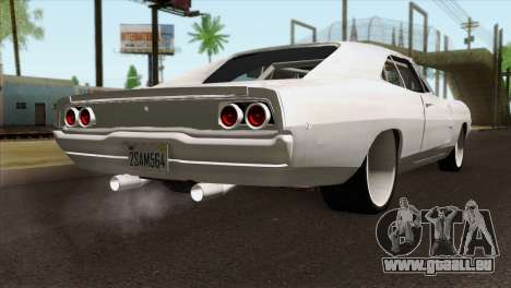 Dodge Charger 1968 für GTA San Andreas linke Ansicht