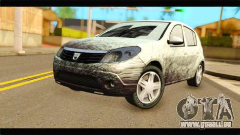 Dacia Sandero Dirty Version für GTA San Andreas