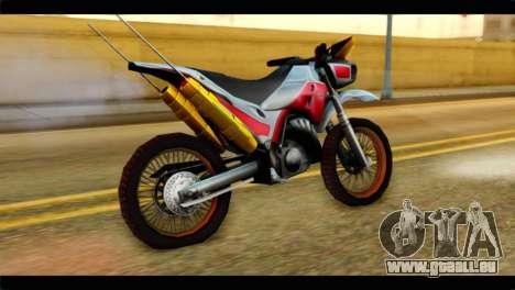 Trychaser 2000 pour GTA San Andreas laissé vue