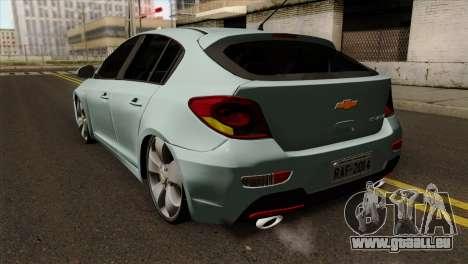 Chevrolet Cruze Hatchback pour GTA San Andreas laissé vue