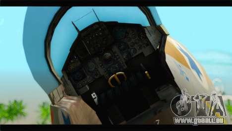 Boeing F-15C IAF für GTA San Andreas Rückansicht