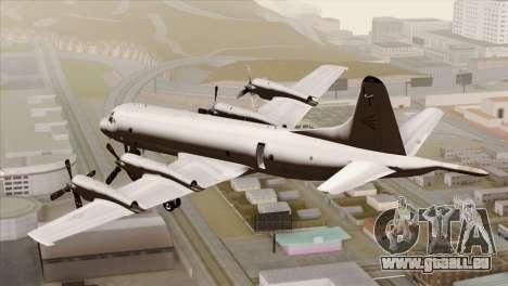 Lockheed P-3C Orion JMSDF Shimofusa für GTA San Andreas linke Ansicht