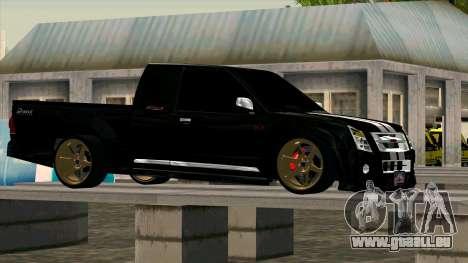 Isuzu D-Max X-Series pour GTA San Andreas laissé vue