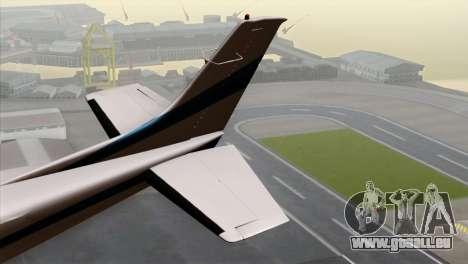 GTA 5 Mammatus pour GTA San Andreas sur la vue arrière gauche