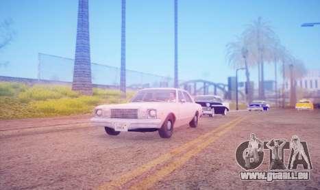 DirectX Test 2 - ReMastered pour GTA San Andreas deuxième écran