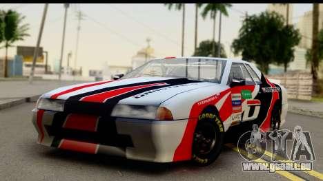 Elegy NASCAR PJ 2 für GTA San Andreas rechten Ansicht