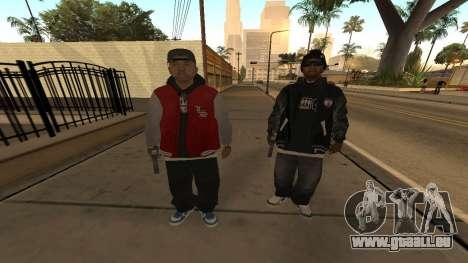 Ballas Skin Pack pour GTA San Andreas