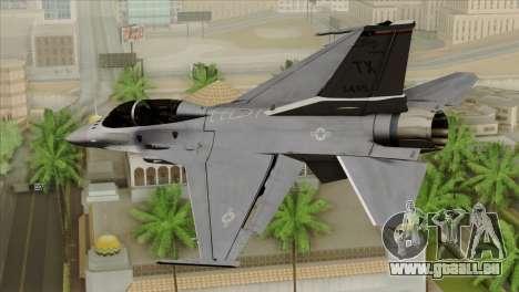 F-16D Fighting Falcon pour GTA San Andreas laissé vue