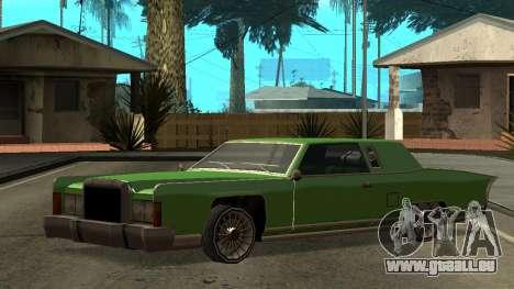 Beta Remington pour GTA San Andreas vue de côté
