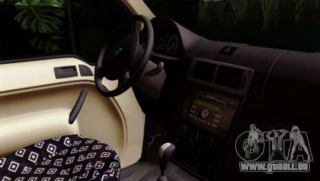 Ford Connect für GTA San Andreas zurück linke Ansicht