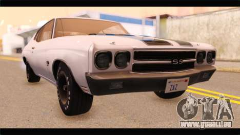 Chevrolet Chevelle 1970 3D Shadow für GTA San Andreas