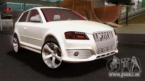 Audi S3 2011 pour GTA San Andreas