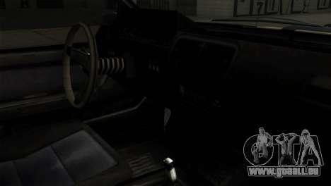 GTA 4 Willard II pour GTA San Andreas vue de droite