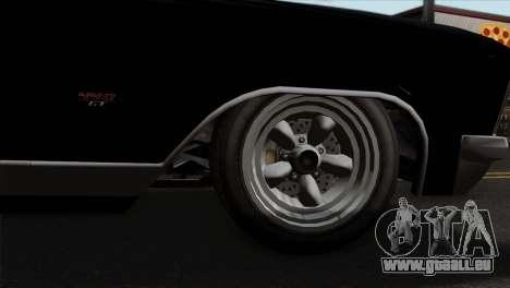 GTA 5 Albany Buccaneer für GTA San Andreas zurück linke Ansicht