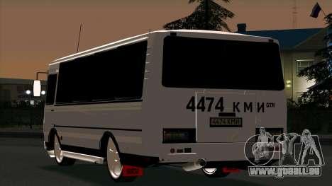 PAZ 3205 Tuning für GTA San Andreas rechten Ansicht