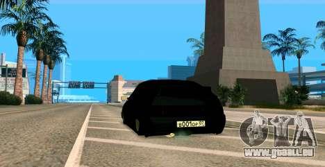 MIT 2112 BUNKER für GTA San Andreas Innenansicht