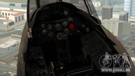 MIG-21MF Romanian Air Force für GTA San Andreas Rückansicht