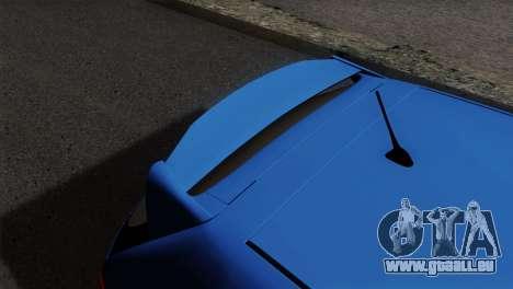 Honda Civic Type R EP3 pour GTA San Andreas vue arrière