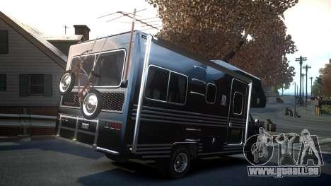 GTA IV Steed Camper für GTA 4 Rückansicht