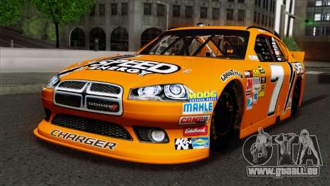 NASCAR Dodge Charger 2012 Short Track pour GTA San Andreas