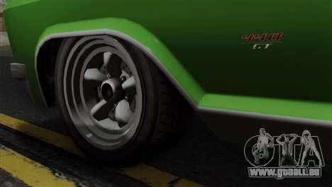 GTA 5 Albany Buccaneer IVF pour GTA San Andreas sur la vue arrière gauche