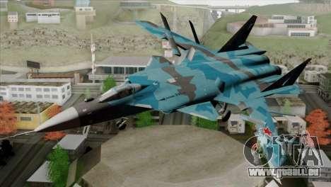 SU-47 Berkut Winter Camo für GTA San Andreas