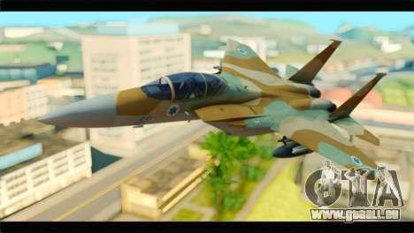 Boeing F-15C IAF für GTA San Andreas