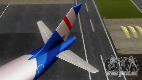 GTA 5 Air Herler pour GTA San Andreas sur la vue arrière gauche