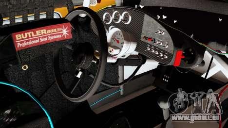 NASCAR Dodge Charger 2012 Short Track pour GTA San Andreas vue de droite